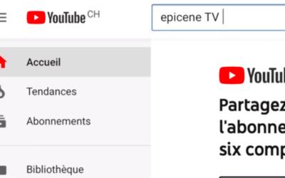 Youtube ÉPICÈNE TV